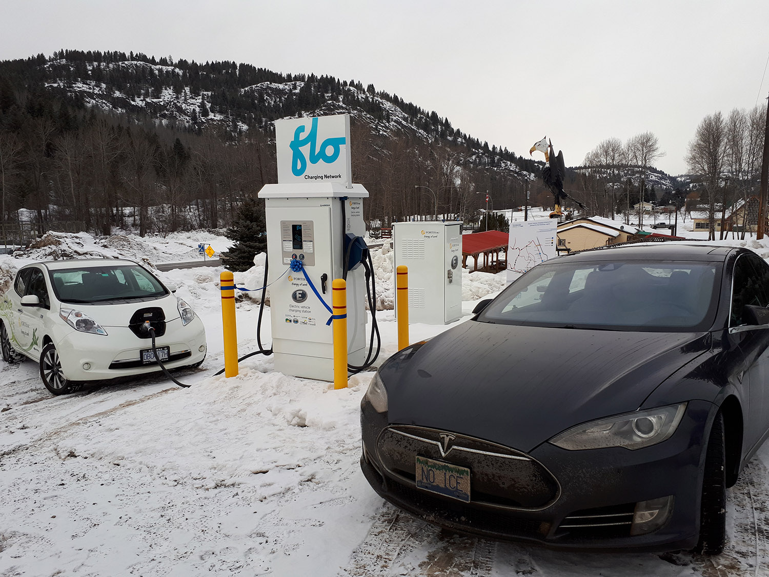 Greenwood BC, Electric Fast Charging Station – Accelerate Kootenays